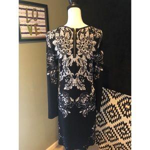 INC International Concepts Dresses - INC. Floral Sweater Dress